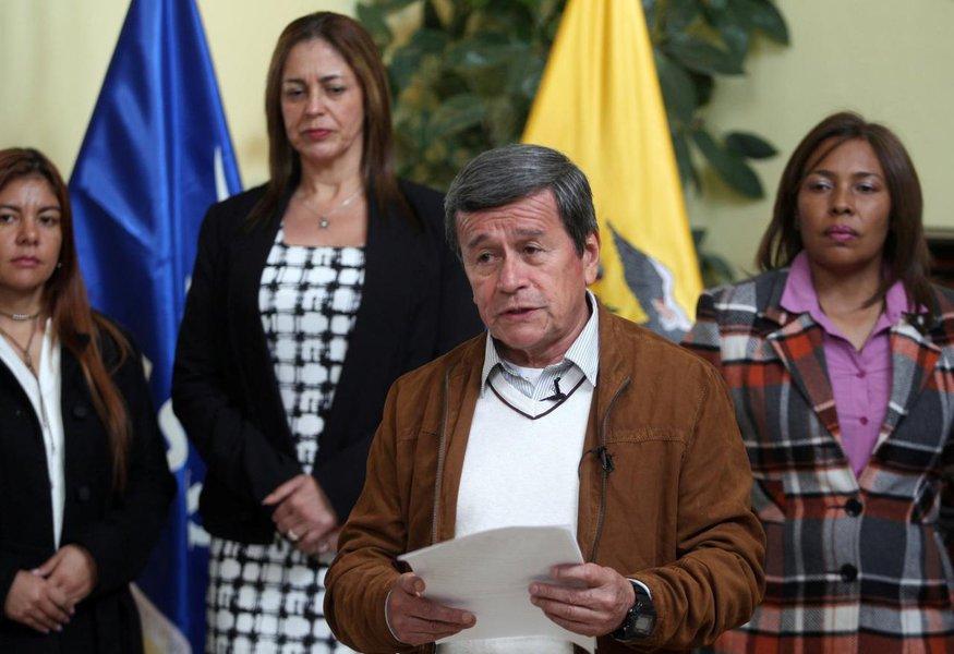Líder do ELN diz que ataque foi resposta ao governo colombiano e pede acordo de paz