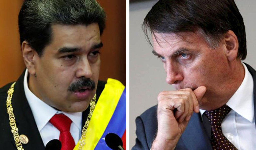 Bolsonaro volta a 64 e ataca Maduro
