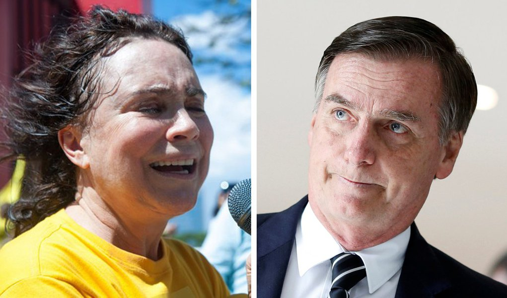 """Regina Duarte se revolta com Bolsonaro: """"Precisamos saber quem é quem"""""""