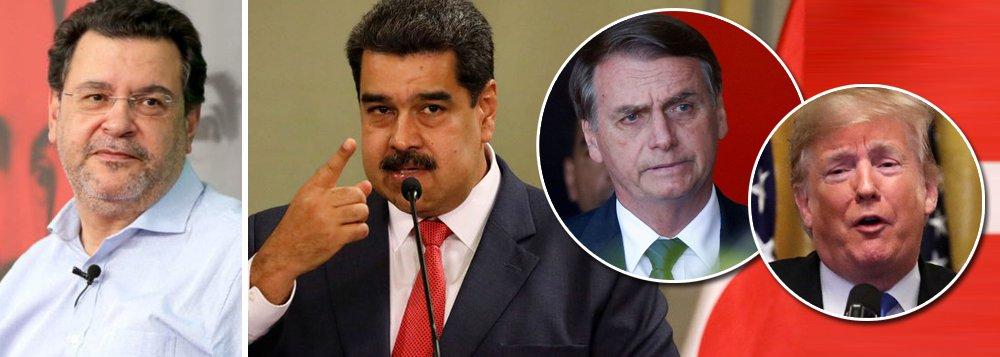 Pimenta: Bolsonaro assumiu a linha de frente contra a Venezuela