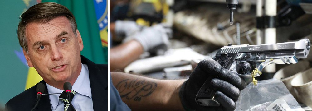 Human Rights Watch critica flexibilização de posse de armas no Brasil