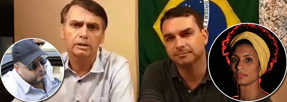 Fecha-se o cerco: ligações perigosas do clã Bolsonaro com suspeitos de matar Marielle