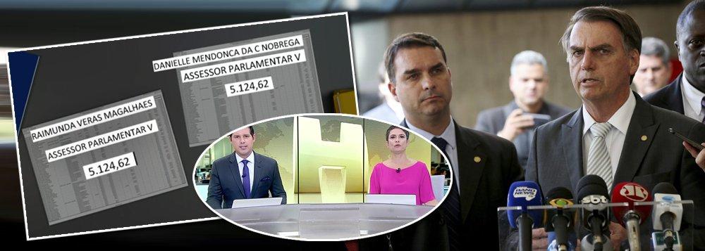 Globo parte para cima e detalha relação de Flávio Bolsonaro com milícias