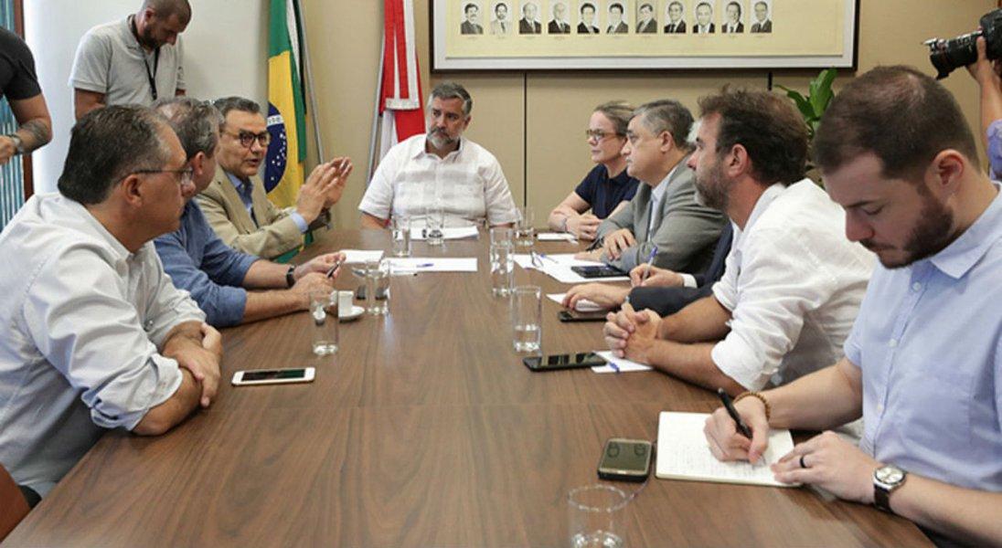 PT, PSB e PSOL defendem bloco de oposição na Câmara com PDT, PCdoB e Rede
