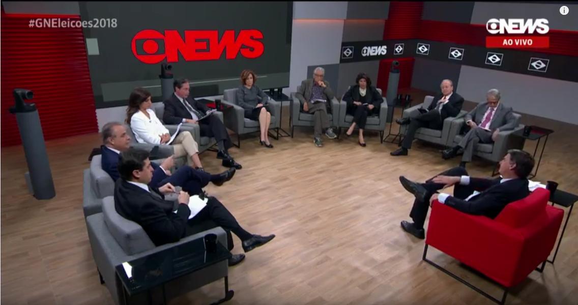 Chegada da CNN Brasil deixou redação da Globo News em choque
