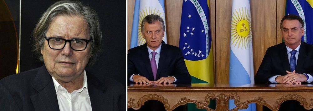 PML: Macri e Bolsonaro dão abraço de náufragos