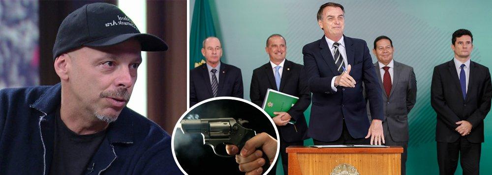 José Padilha, que apoiou o golpe, prevê mais mortes com decreto de Bolsonaro