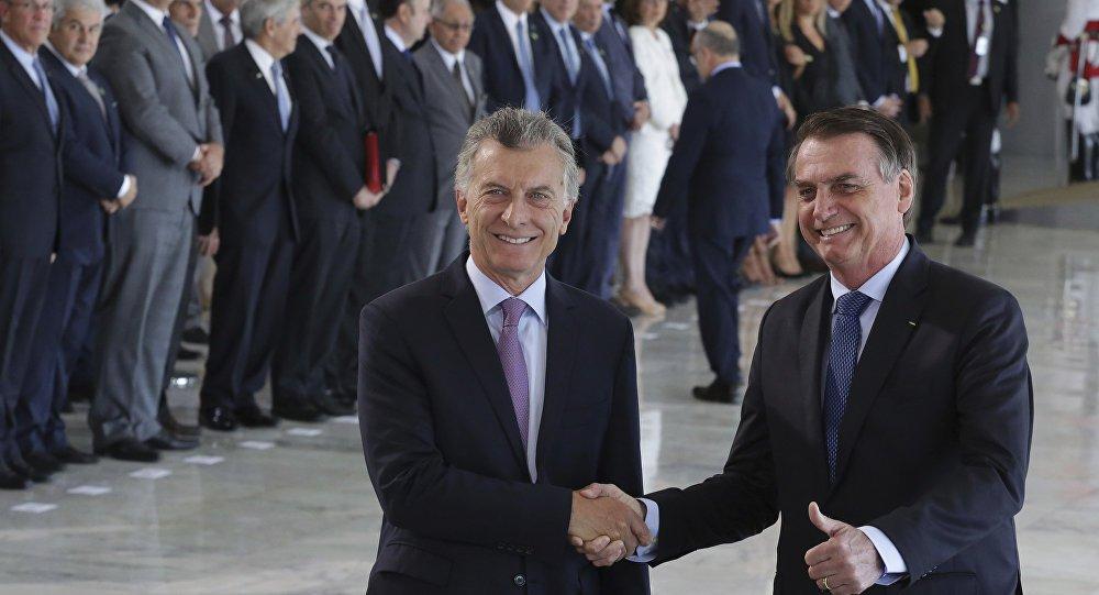 Encontro entre Bolsonaro e Macri foi cordial mas não registra grandes avanços