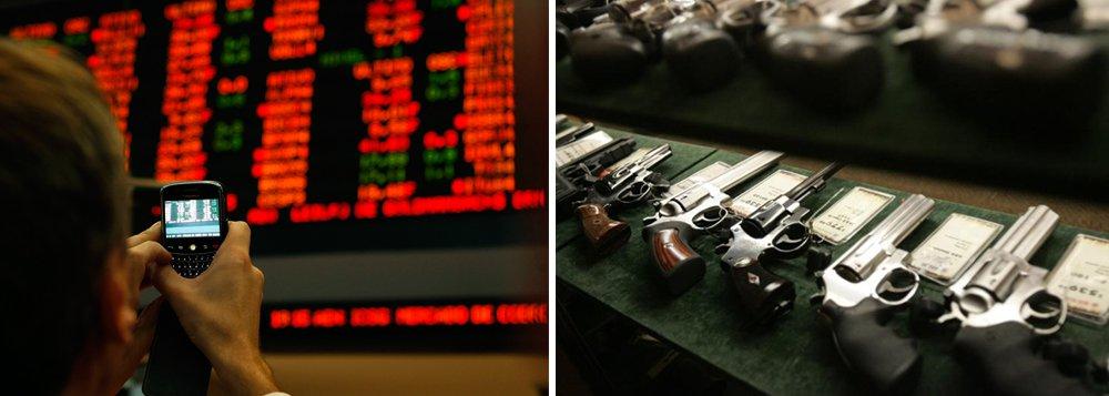 Ações da Taurus derretem 21% na Bolsa