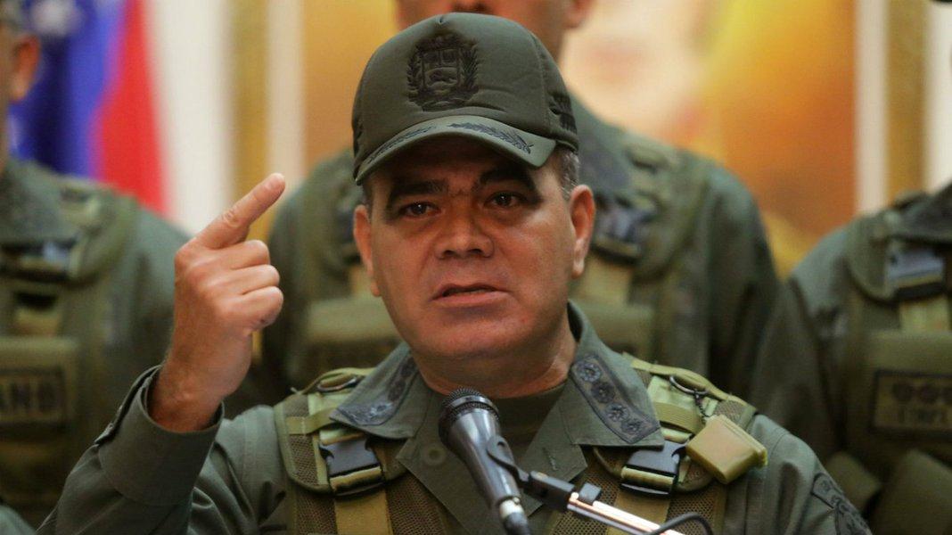 Ministro da Defesa da Venezuela diz que militares estão dispostos a dar a vida pelo país