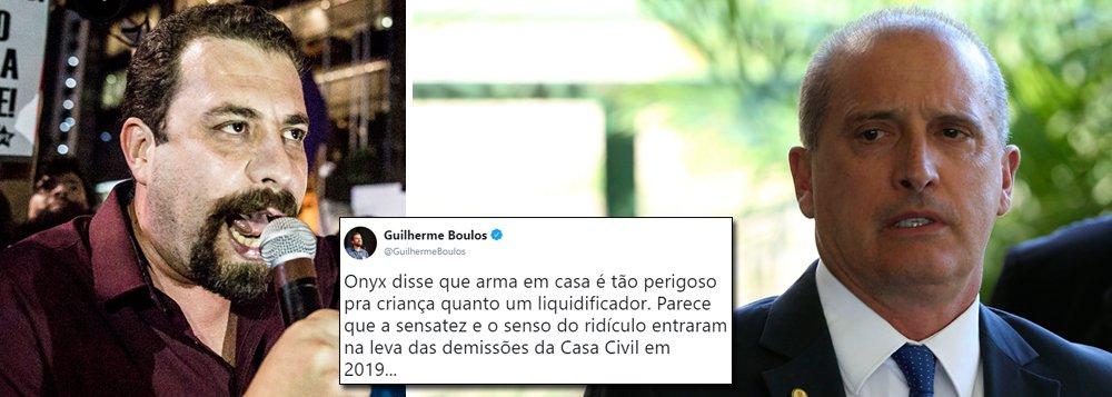 Boulos: senso do ridículo foi embora junto com as demissões na Casa Civil