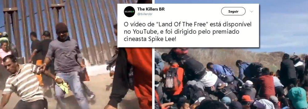 Spike Lee se junta a The Killers para clipe de protesto contra muro de Trump