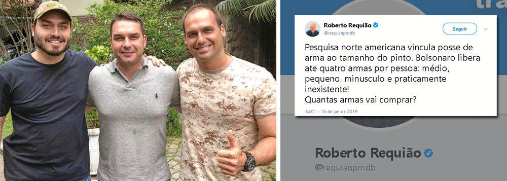 Requião cita pesquisa que associa posse de arma ao tamanho do pênis: quantas Bolsonaro vai comprar?