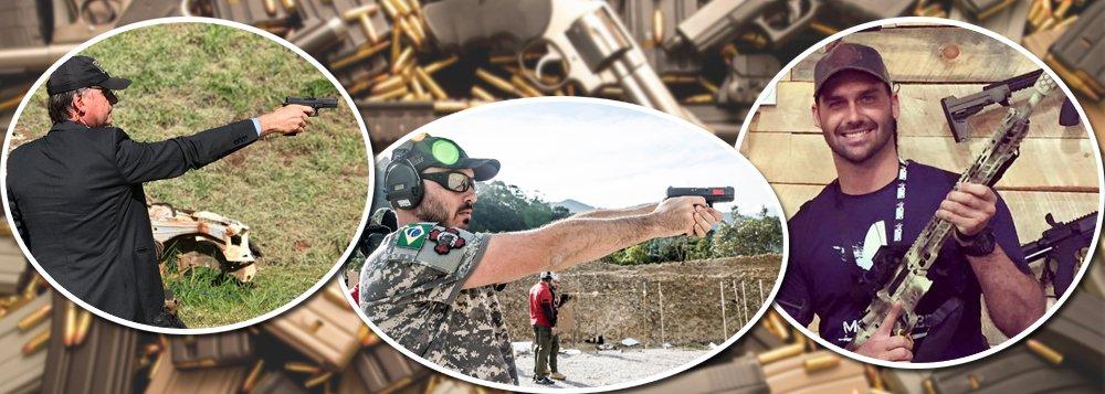 Instrutor de clube de tiro: 'Pensa no seu inimigo'; já há 516 clubes no país