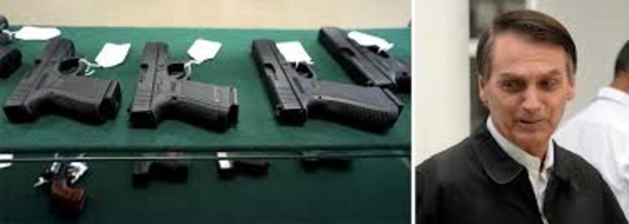 Armas: mundo restringe cada vez mais enquanto Brasil libera