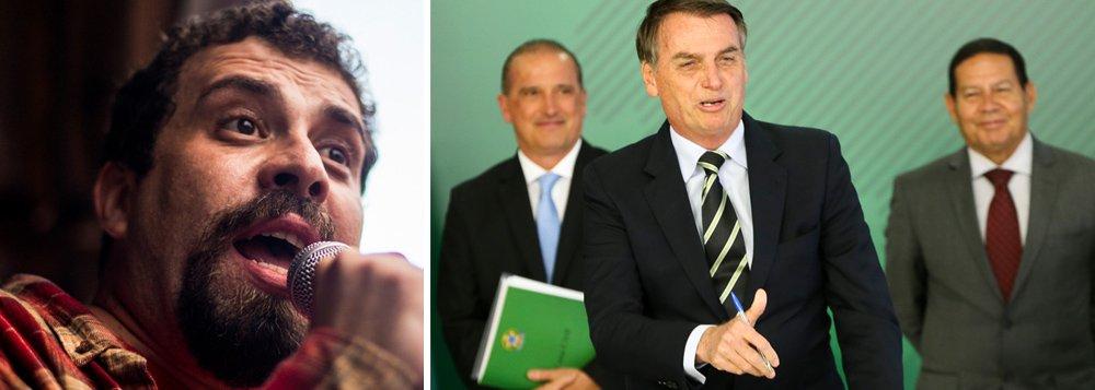 Boulos critica decreto de Bolsonaro: mais armas, mais violência