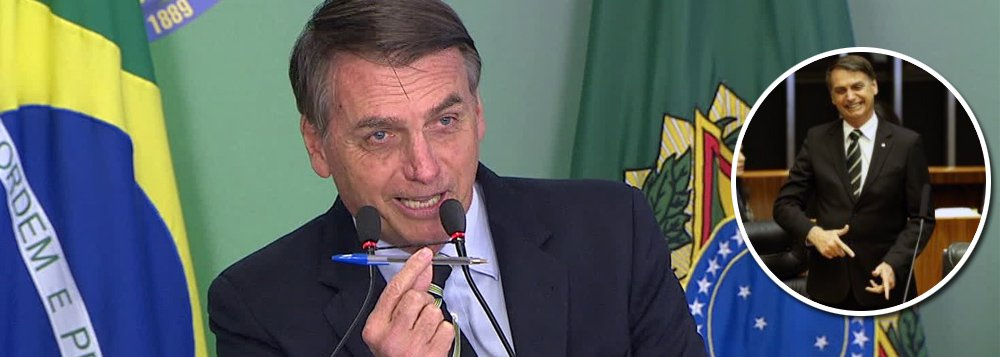 Bolsonaro assina decreto: 'cidadãos de bem' terão armas à vontade