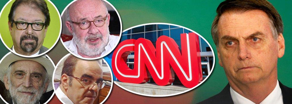 Jornalistas celebram CNN, mas cobram independência