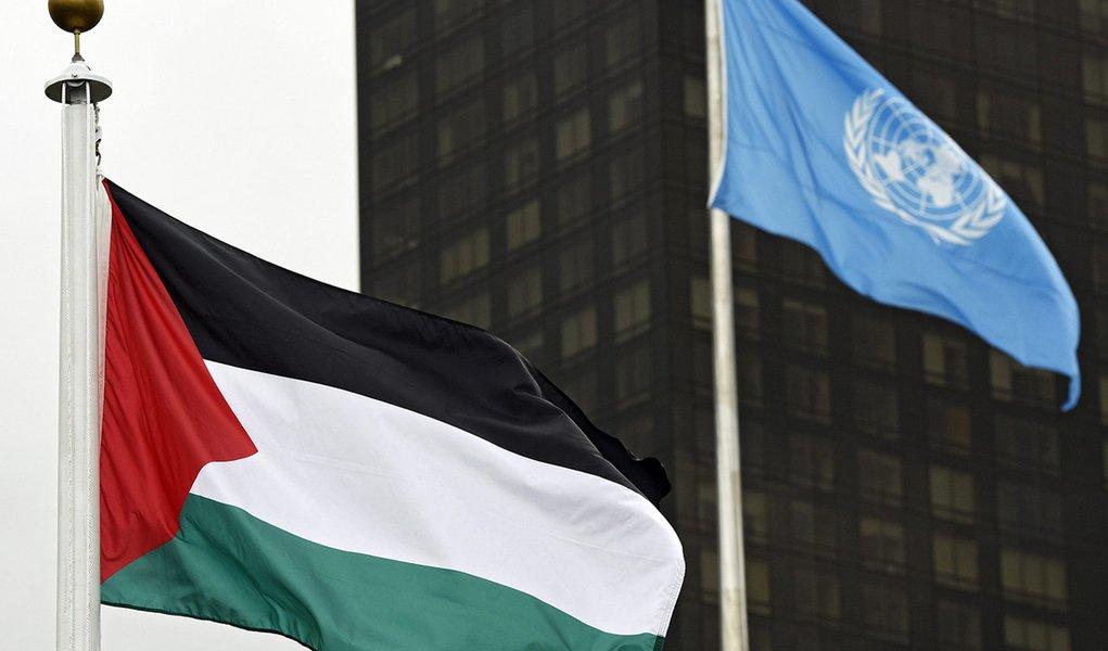 Palestina assumirá liderança do bloco G77 + China