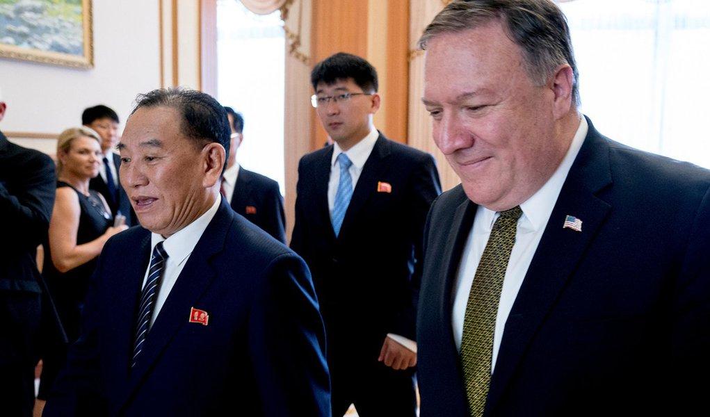 EUA e Coreia do Norte se reúnem nesta semana em busca de acordo