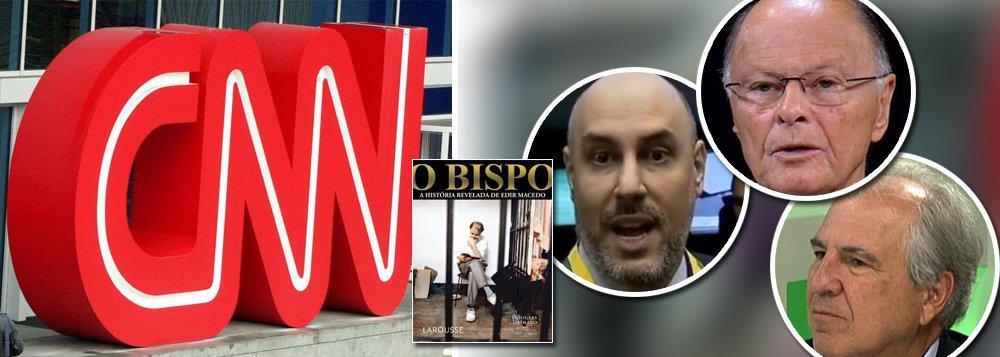 Dono da CNN Brasil diz que jornalismo não terá ligação com Edir Macedo