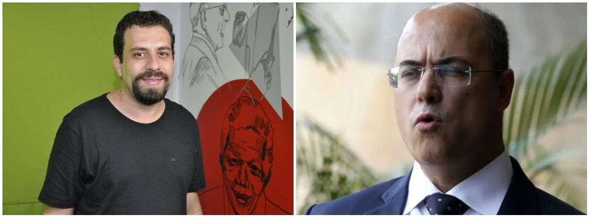 Boulos: Witzel tem um descompromisso repugnante com a democracia