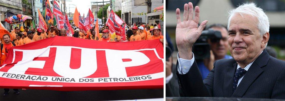 FUP vai à Justiça contra nomeação de amigo de Bolsonaro na Petrobrás