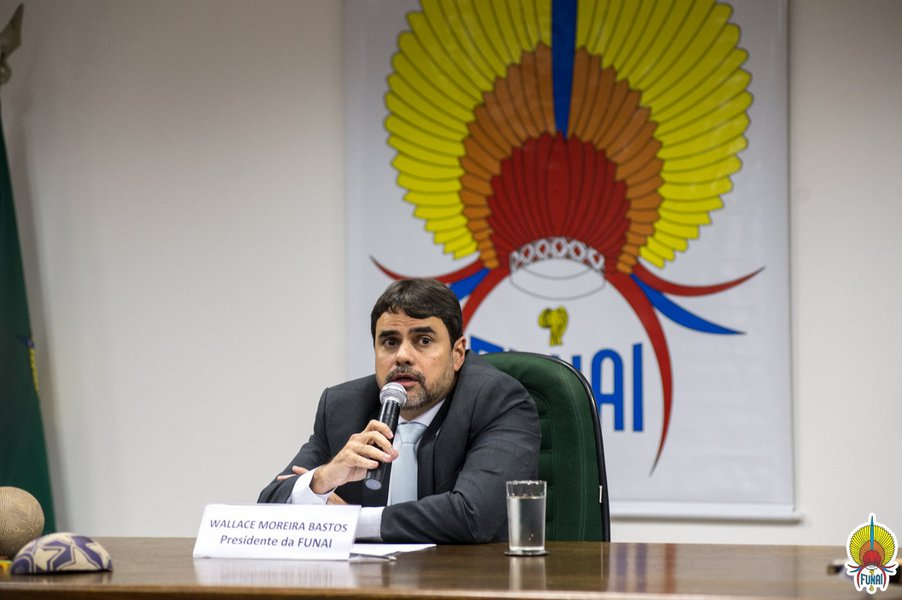 Presidente da Funai, Wallace Bastos pede exoneração do cargo