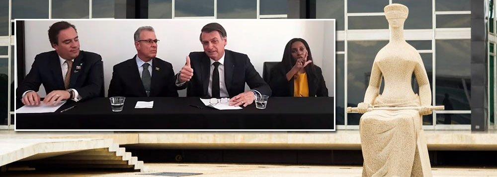 Bolsonaro se desdiz e nega acordo para indicação de Moro ao Supremo