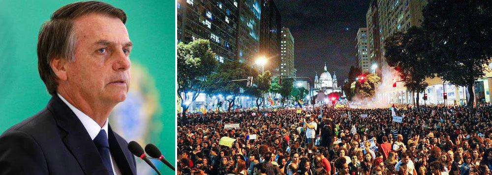 Bolsonaro desafia justiça e povo brasileiro: venham pra cima, não vão me pegar