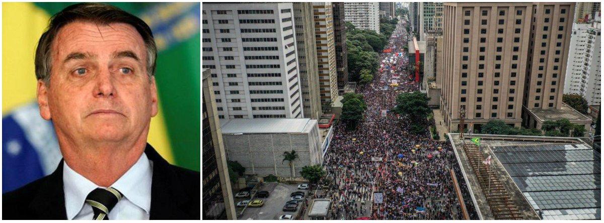 Bolsonaro divulga vídeo com pais de alunos de escola particular criticando protestos