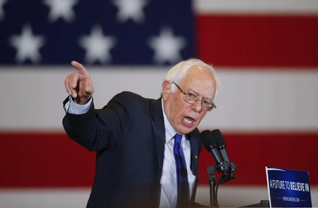 Jovens preferem Bernie Sanders como candidato democrata