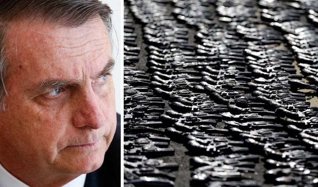 Tijolaço: Bolsonaro assume que armas são para formar milícias