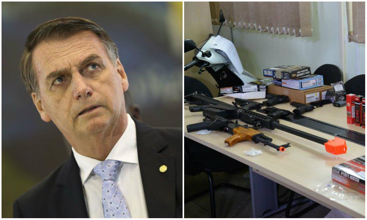 Renovação automática prevista no decreto de armas favorece quem tem antecedentes criminais