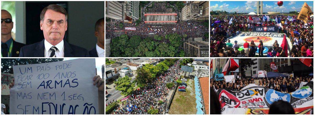 Após 4 meses, Bolsonaro já enfrenta greve, protestos e é expulso de Nova York