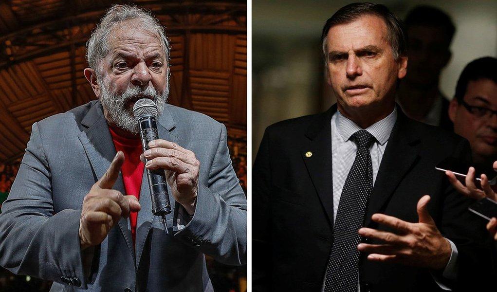 Lula: Bolsonaro tem que parar de governar para miliciano