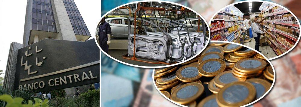 Banco Central reconhece: PIB diminuiu no primeiro trimestre