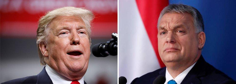 Trump recebe o líder húngaro de extrema-direita