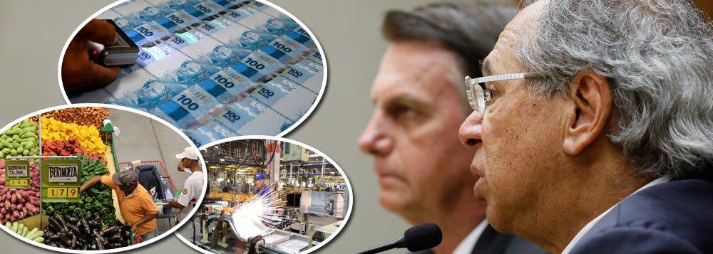 Sem rumo na economia, Brasil corre risco de entrar em recessão técnica