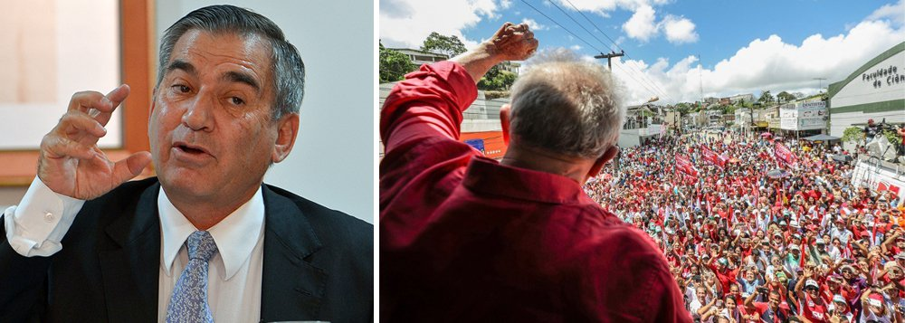 Gilberto Carvalho: liberdade de Lula só acontece com mudança de conjuntura