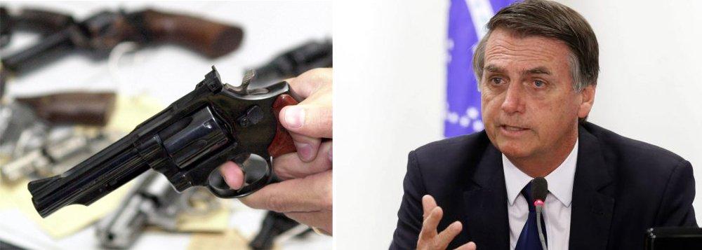 Quem mais deve se beneficiar do decreto do porte de armas é o tráfico internacional de armas