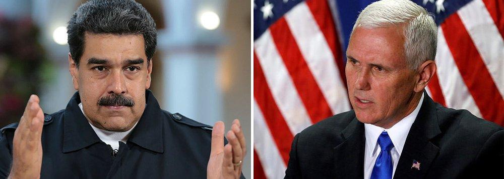 """Maduro sobre vice-presidente dos EUA: """"a única coisa que falta é colocar o chapéu da Ku Klux Klan"""""""