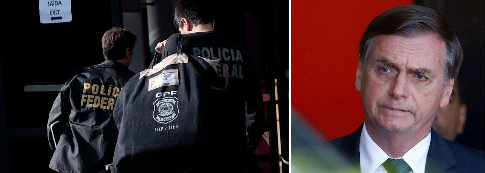Policiais federais e civis atacam reforma da Previdência de Bolsonaro