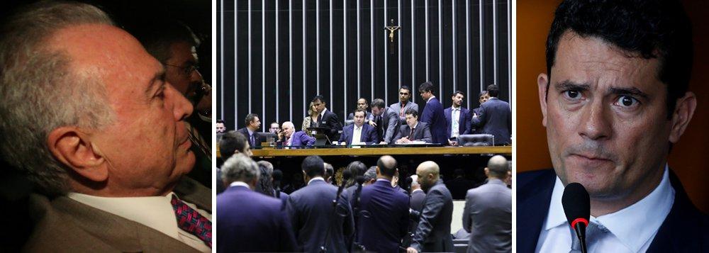 Prisão de Temer acirra reação a Moro e Lava Jato no Congresso