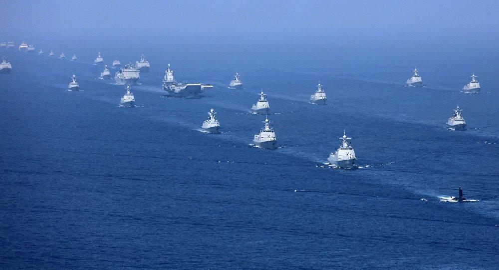 Em ameaça a Pequim, EUA e outros países fazem manobras em mar do Sul da China