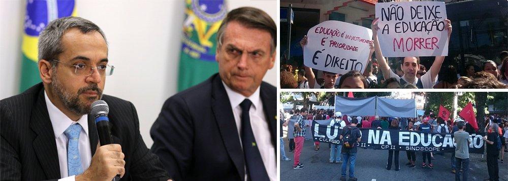 Partidos de oposição irão apoiar manifestações pela educação