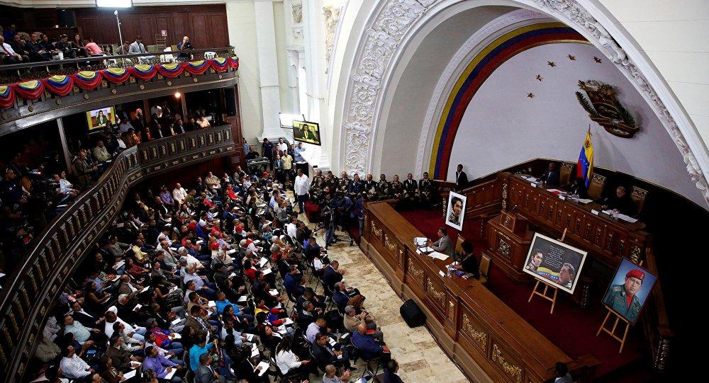Constituição venezuelana proíbe pedido de intervenção estrangeira