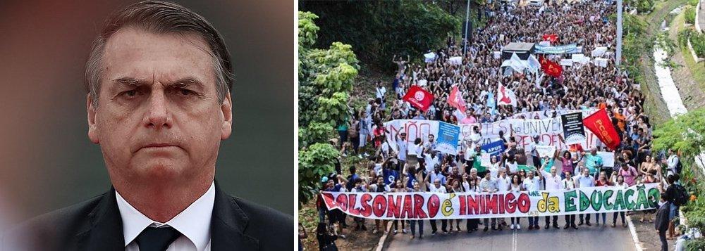 'Bolsonaro vai provar o gosto da pressão popular', diz presidenta da UNE