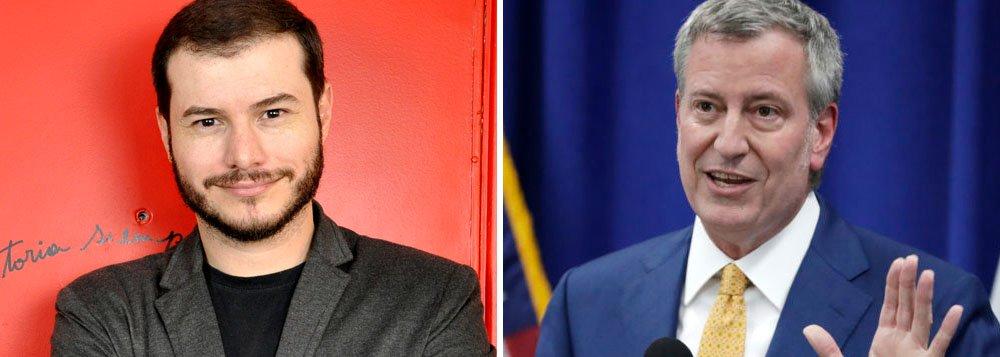 Presidente do PSOL convida prefeito de NY para vir ao Brasil