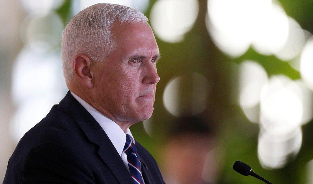Pence mente para justificar agressão, diz ex-presidente da Venezuela